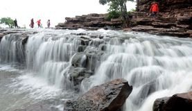 Vågor av vatten Arkivfoto