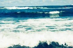 Vågor för stormhav royaltyfri bild