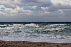 Vågor på Atlanten Fotografering för Bildbyråer
