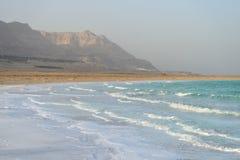 Vågor på det döda havet Arkivbilder