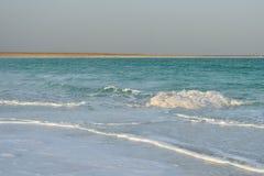 Vågor på det döda havet Royaltyfria Bilder