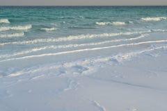 Vågor på det döda havet Arkivbild