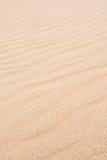 Vågor på sanddyn i Chaves sätter på land Praia de Chaves i Boavist Royaltyfri Fotografi