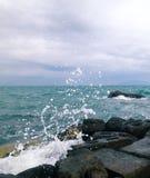 Vågorna Arkivbild