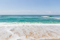 Vågorna i havet Arkivbilder