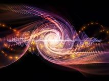 Vågpartikel Arkivfoton
