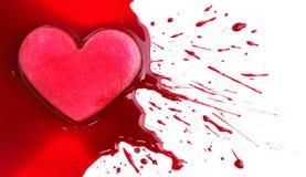 Våldsam förälskelse Arkivbild