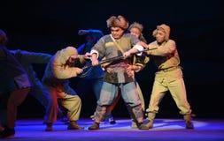"Våldsam röveri-Peking opera som ""Taking Tiger Montain By Strategyâ € Royaltyfri Foto"
