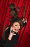 Våldsam transvestit Royaltyfria Foton