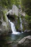 Våldsamt slagBish vattenfall, Mt Washington, MOR arkivfoto