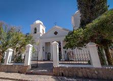 Vår dam av Candelaria Church - Humahuaca, Jujuy, Argentina royaltyfria bilder