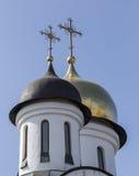 Vår dam av den Kazan ortodoxdomkyrkan Royaltyfri Foto