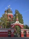Vår dam av den Tikhvin kyrkan Royaltyfri Fotografi