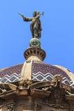 Vår dam av förskoning på kupolen av basilikan De La Merce, Barce Arkivfoton