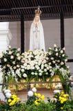 Vår dam av Fatima, gudstaty, Christian Faith Arkivfoto