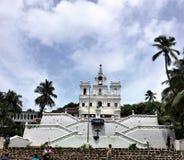 Vår dam av kyrkan för obefläckad befruktning, Panjim, Goa arkivbilder