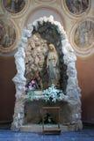 Vår dam av Lourdes Royaltyfri Fotografi