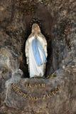Vår dam av Lourdes Royaltyfria Bilder