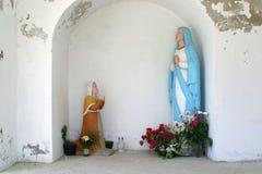 Vår dam av Lourdes Arkivfoton