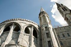 Vår dam av Lourdes Sanctuary Basilica Royaltyfri Foto