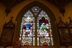 Vår dam av segrar kyrka, Boston, USA arkivfoton