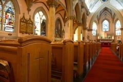 Vår dam av segrar kyrka, Boston, USA royaltyfria bilder