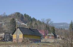 Vår i byn. Fotografering för Bildbyråer