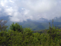Vår i de Crimean bergen Royaltyfria Foton