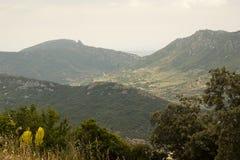 Vår i de franska Pyreneesna royaltyfri fotografi
