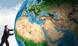 Vår jordplanet Royaltyfria Bilder