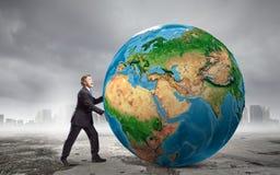 Vår jordplanet Fotografering för Bildbyråer