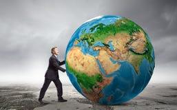 Vår jordplanet Royaltyfri Foto