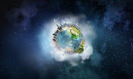 Vår jordplanet Arkivbild