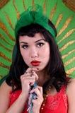 vår lady Arkivfoto