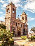 Vår Lady av den LaPaz domkyrkan Arkivfoto