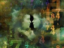 Vår Lucky Numbers Fotografering för Bildbyråer