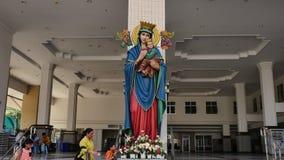 Vår moder av eviga välsignade jungfruliga Mary, moder av guden Arkivbilder