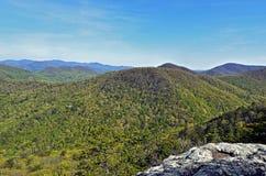Vår Mountain View Arkivbild