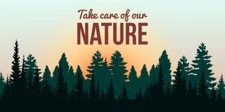 Vår natur royaltyfri bild