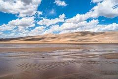 Vår på stora sanddyn Royaltyfria Bilder