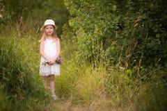 Vår-sommar flicka 3 Royaltyfria Foton