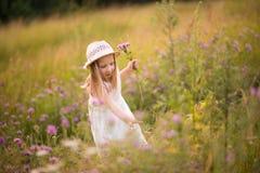 Vår-sommar flicka 11 Fotografering för Bildbyråer