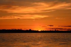 Vår Sunset-3 Arkivbilder