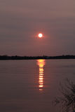 Vår Sunset-4 Royaltyfri Bild