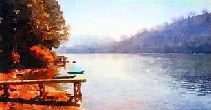 Vår Tid i Lake Tahoe Royaltyfri Foto