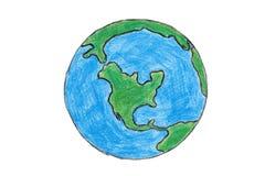 vår värld Arkivbilder