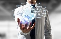 Våra innnovative teknologier för ditt liv Blandat massmedia Royaltyfri Bild