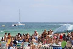Våravbrott - Ft Lauderdale, Florida Fotografering för Bildbyråer