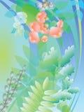 Vårbevekelsegrunder Royaltyfri Bild