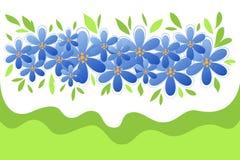 Vårblåttblommor Royaltyfri Foto